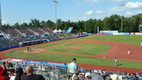 Dutchess Stadium, section: 302, row: L, seat: 8