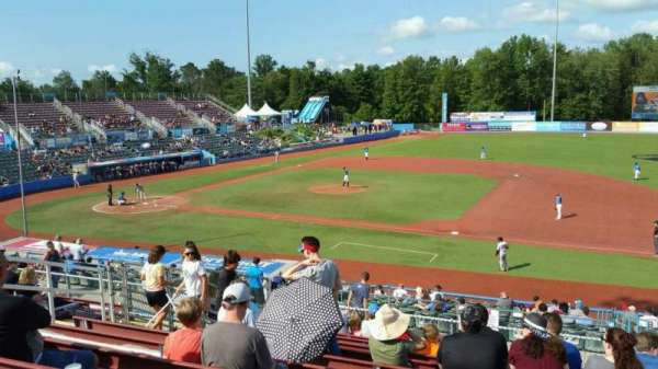 Dutchess Stadium, section: 302, row: L, seat: 11