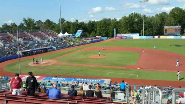 Dutchess Stadium, section: 303, row: N, seat: 22