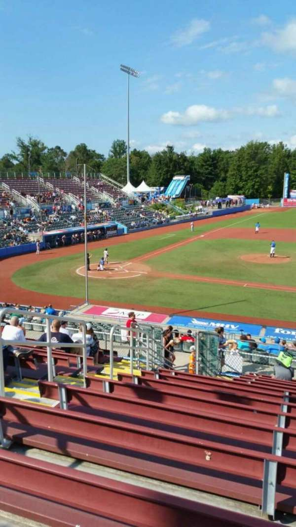 Dutchess Stadium, section: 303, row: N, seat: 7