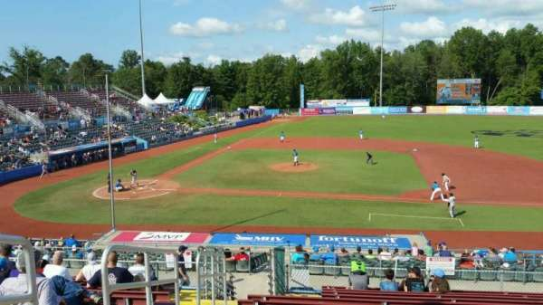 Dutchess Stadium, section: 303, row: N, seat: 4