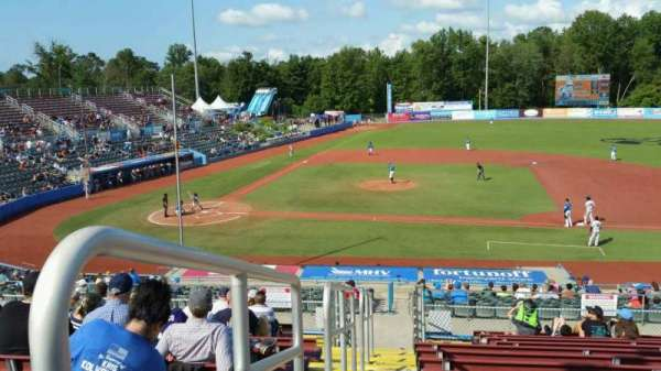 Dutchess Stadium, section: 303, row: N, seat: 2