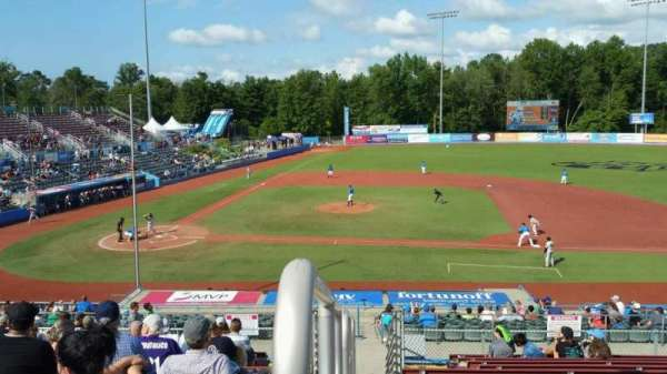 Dutchess Stadium, section: 303, row: N, seat: 1