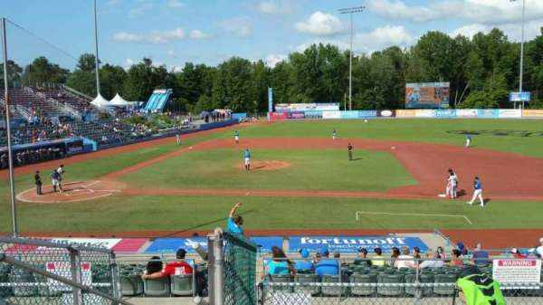 Dutchess Stadium, section: 303, row: F, seat: 1