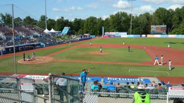Dutchess Stadium, section: 303, row: F, seat: 3