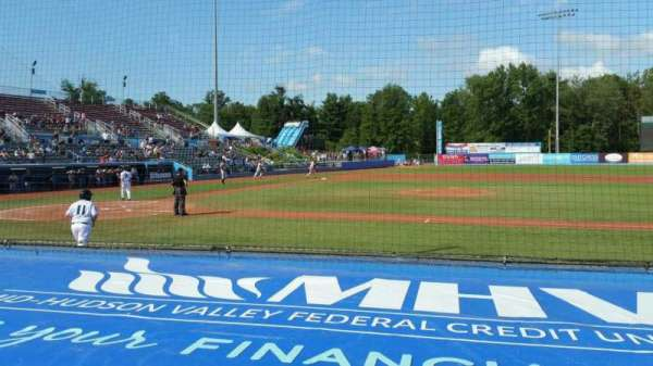 Dutchess Stadium, section: 103, row: D, seat: 16