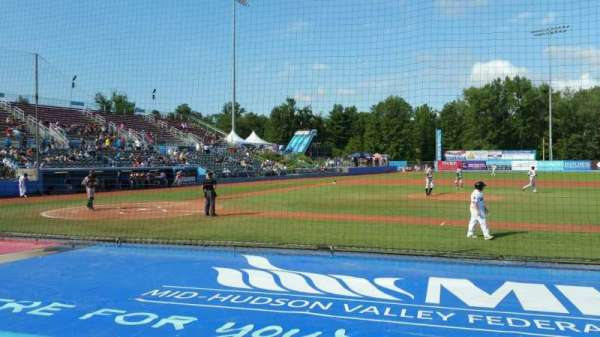 Dutchess Stadium, section: 103, row: D, seat: 15
