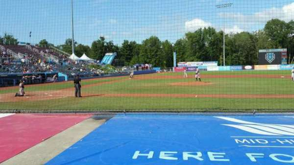Dutchess Stadium, section: 103, row: D, seat: 12