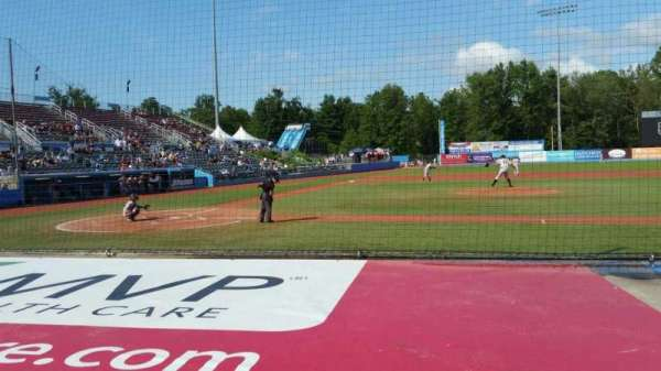 Dutchess Stadium, section: 103, row: D, seat: 9