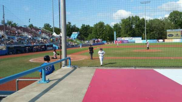 Dutchess Stadium, section: 103, row: D, seat: 2