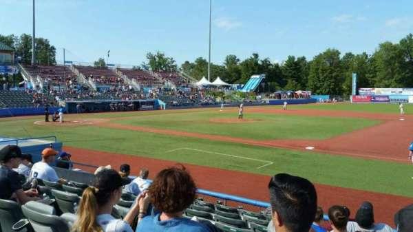 Dutchess Stadium, section: 101.5, row: H, seat: 12
