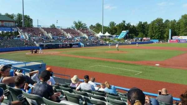 Dutchess Stadium, section: 101.5, row: H, seat: 10