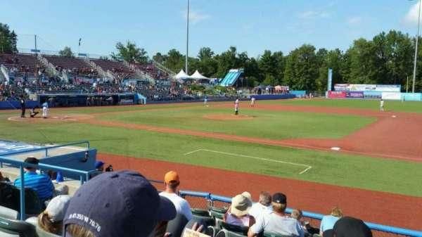 Dutchess Stadium, section: 101.5, row: H, seat: 6