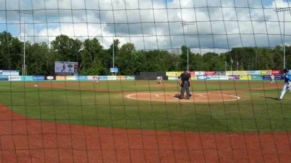 Dutchess Stadium, section: 106, row: A, seat: 4