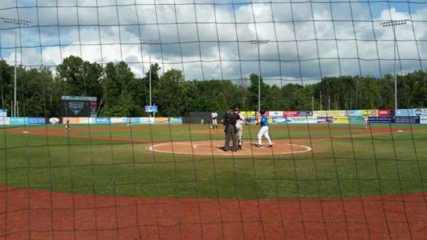 Dutchess Stadium, section: 106, row: A, seat: 6
