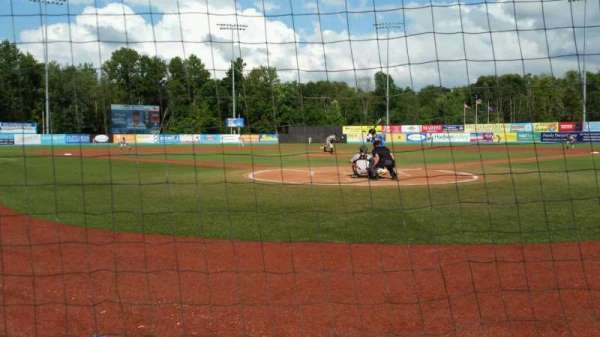 Dutchess Stadium, section: 106, row: A, seat: 5