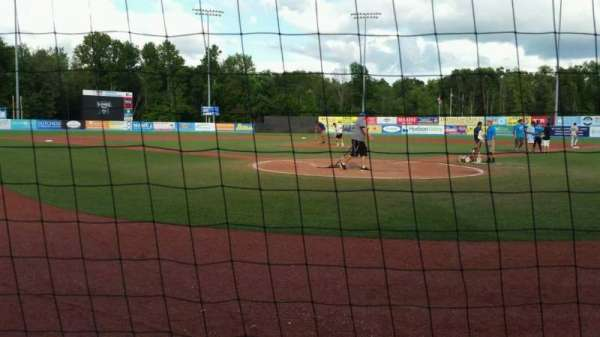 Dutchess Stadium, section: 106, row: A, seat: 3