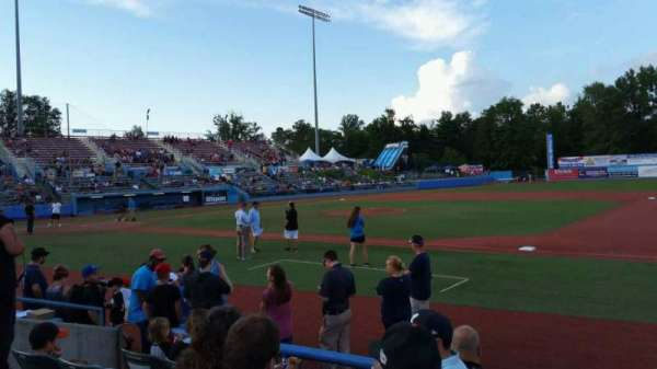 Dutchess Stadium, section: 101.5, row: E, seat: 8