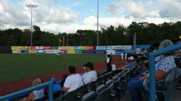Dutchess Stadium, section: 101.5, row: D, seat: 11