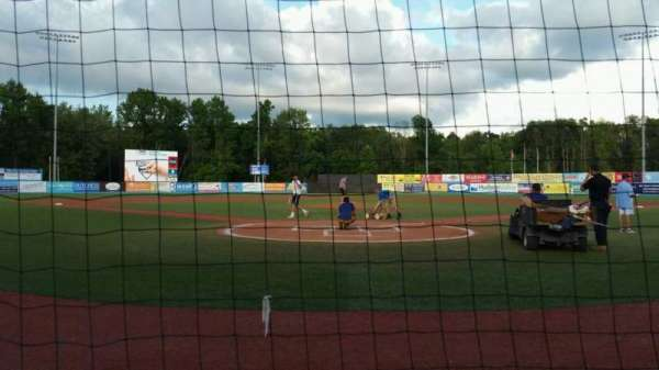 Dutchess Stadium, section: 106, row: A, seat: 8
