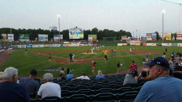 FirstEnergy Park, section: 107, row: 16, seat: 17