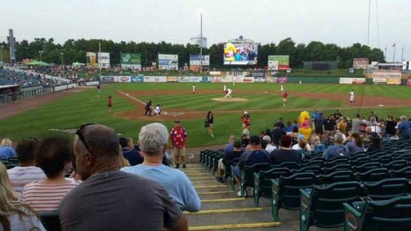 FirstEnergy Park, section: 107, row: 16, seat: 1