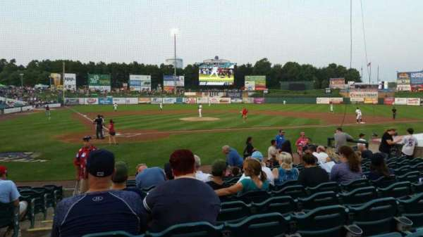 FirstEnergy Park, section: 106, row: 12, seat: 20