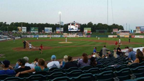 FirstEnergy Park, section: 106, row: 12, seat: 17