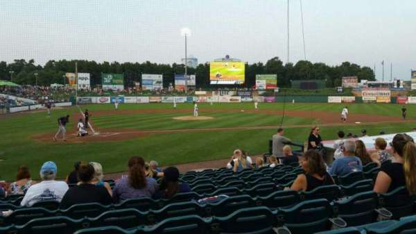 FirstEnergy Park, section: 106, row: 12, seat: 14