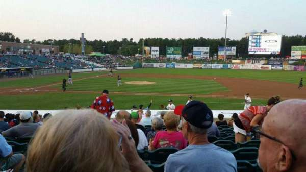 FirstEnergy Park, section: 104, row: 17, seat: 21