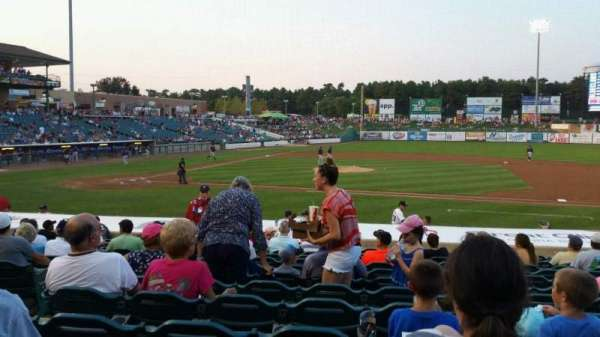 FirstEnergy Park, section: 104, row: 17, seat: 18