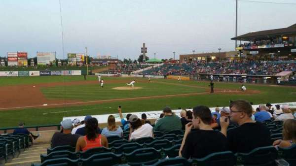 FirstEnergy Park, section: 112, row: 17, seat: 21