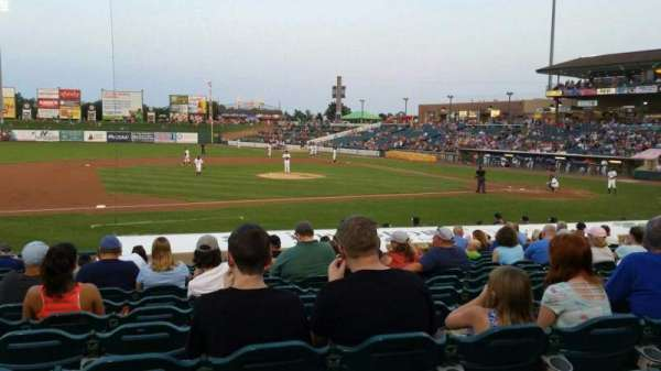 FirstEnergy Park, section: 112, row: 17, seat: 19
