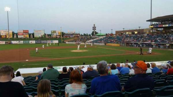 FirstEnergy Park, section: 112, row: 17, seat: 15