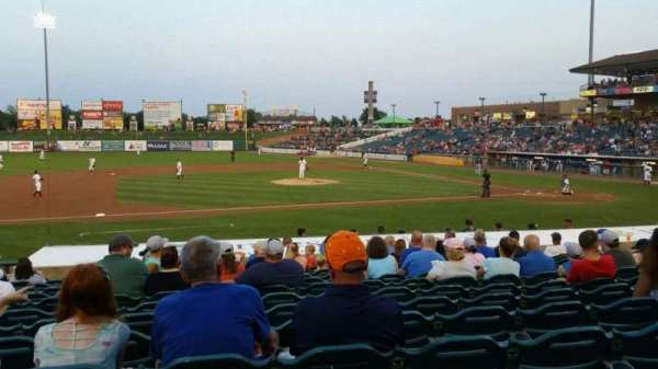 FirstEnergy Park, section: 112, row: 17, seat: 14