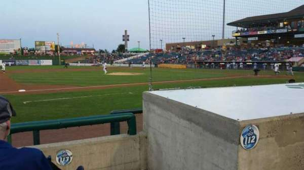 FirstEnergy Park, section: 113, row: 6, seat: 1