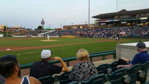 FirstEnergy Park, section: 113, row: 6, seat: 7