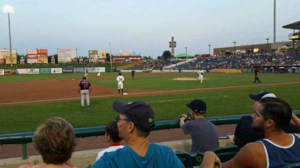 FirstEnergy Park, section: 113, row: 6, seat: 9