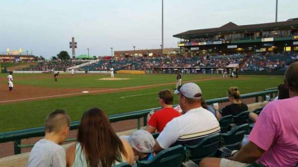 FirstEnergy Park, section: 113, row: 6, seat: 21