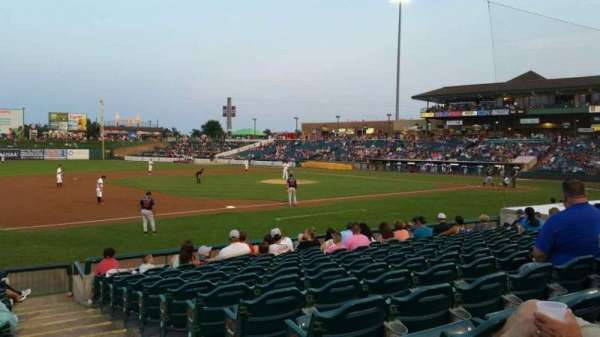 FirstEnergy Park, section: 114, row: 14, seat: 1