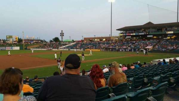 FirstEnergy Park, section: 114, row: 14, seat: 6