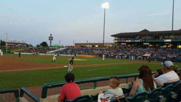 FirstEnergy Park, section: 114, row: 6, seat: 1