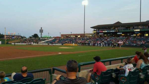 FirstEnergy Park, section: 114, row: 6, seat: 4