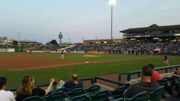 FirstEnergy Park, section: 114, row: 6, seat: 6