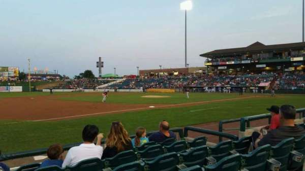 FirstEnergy Park, section: 114, row: 6, seat: 8