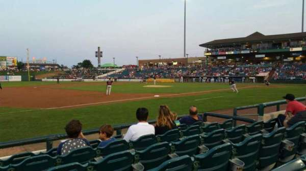 FirstEnergy Park, section: 114, row: 6, seat: 10