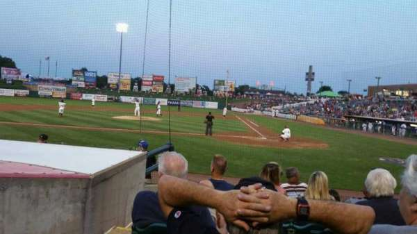 FirstEnergy Park, section: 110, row: 9, seat: 18