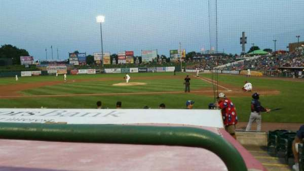 FirstEnergy Park, section: 111, row: 10, seat: 1