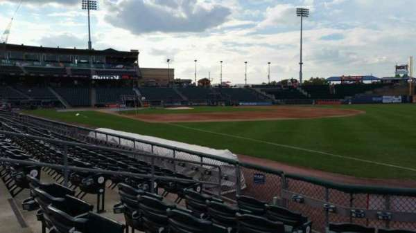 Coca-Cola Park, section: 102, row: F, seat: 6