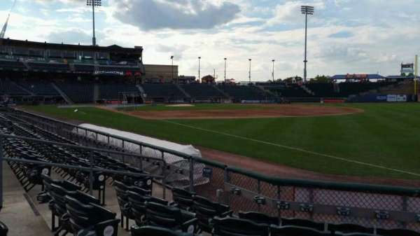 Coca-Cola Park, section: 102, row: F, seat: 8